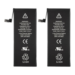 Battery for Apple 6160809 (2-Pack) Cell Phone Battery