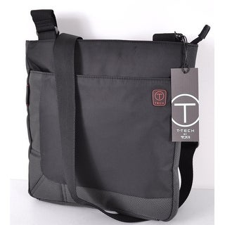 Link to Tumi  T Tech 51239 Black Nylon Top Zip Crosby Crossbody Messenger Bag Similar Items in Shop By Style