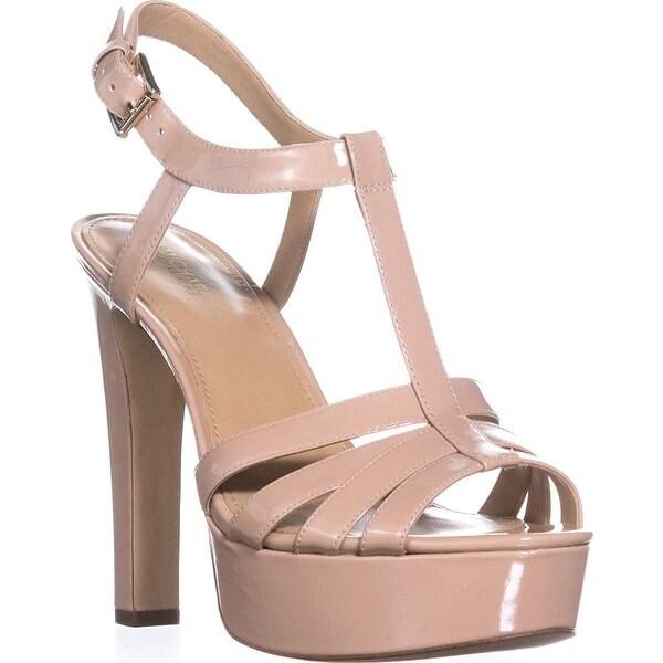 MICHAEL Michael Kors Womens catalina Open Toe Casual T-Strap Sandals