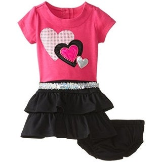 Nannette 2PC Tiered Casual Dress - 24 mo