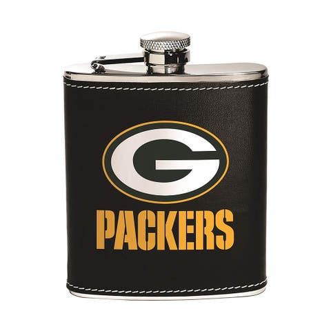 Green Bay Packers 6oz Stainless Steel Flask