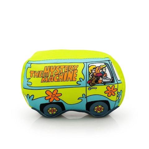 "Scooby-Doo Mystery Machine 6"" Plush Dog Chew Toy - Multi"