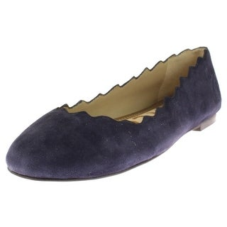 Sam Edelman Womens Francis Ballet Flats Scalloped