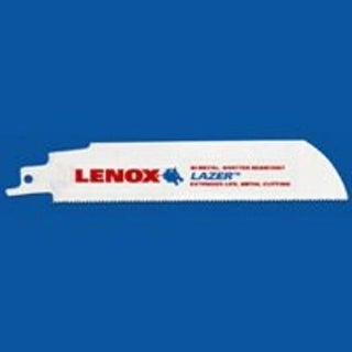 "Lenox 24902-T6114R Laser Reciprocating Saw Blade, 6"", 14 Tpi"
