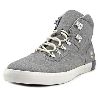 Timberland HOMMES Men  Round Toe Canvas Gray Sneakers