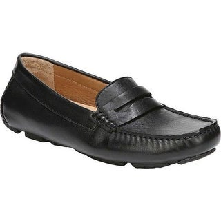 Naturalizer Women's Natasha Driving Moc Black Leather