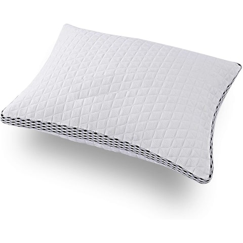 Memory Foam Pillow Sleeping Queen Size Shredded Washable Breathable