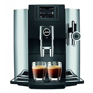 Jura E8 Espresso Coffee Machine,chrome Refurbished