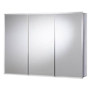 "Jacuzzi PD48000 26"" H x 36"" W x 5-1/4"" D Triple Door Medicine Cabinet"