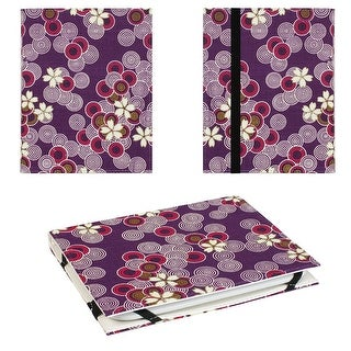 JAVOedge Cherry Blossom Lightweight Book Case with Strap Closure for Barnes & Noble Nook Glowlight 2nd Generation