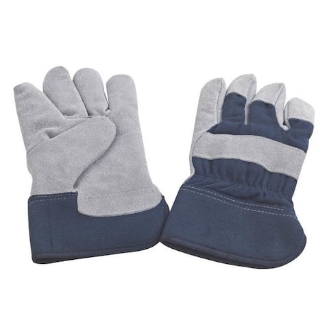 Mintcraft JF 6317 Insulated Leather Men Gloves, Blue