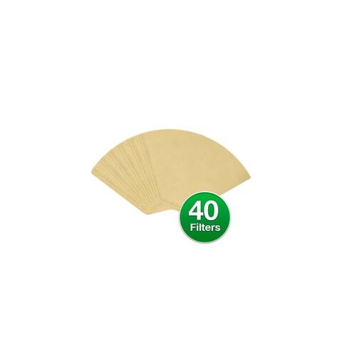 Replacement Coffee Paper Filter for Braun 624412 / #4 Cone Filters (Single Pack) Replacement Filter