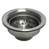 Danco 89302 Kitchen Sink Strainer, Brushed Nickel