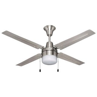 "Ellington Fans UB48 Urbana 48"" 4 Blade Hanging Indoor Ceiling Fan with Reversible Motor, Blades and Light Kit"