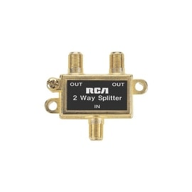 RCA 2-Way Coax Splitter
