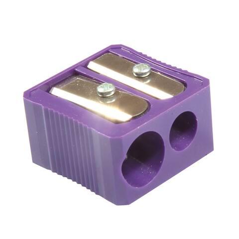 Baumgartens dual hole plastic pencil sharpener mmr3320