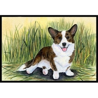 Carolines Treasures SS8004MAT 18 x 27 in. Corgi Indoor Outdoor Mat