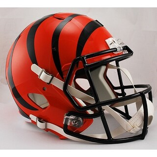 Cincinnati Bengals Riddell Full Size Deluxe Replica Speed Football Helmet