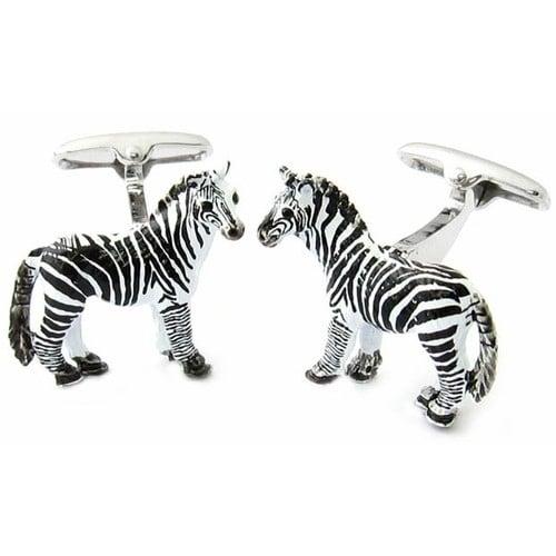 Zebra Cufflinks Animal