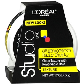 L'Oreal Studio Line Overworked Hair Putty 1.70 oz