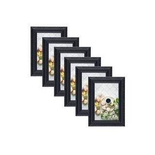 Plated Beaded Picture Frames 4x6 or 5x7 Photo Display Set
