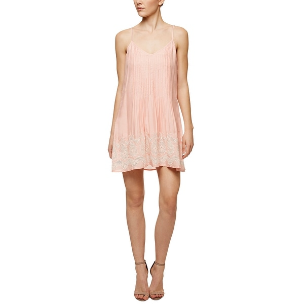 9e9ff42053 Shop Sanctuary Reese Embroidered Slip Dress Blossom - Free Shipping On  Orders Over  45 - Overstock - 22353674