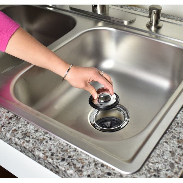 Keeney K5417dsbn Garbage Disposal Flange And Stopper Brushed Nickel On Sale Overstock 15888596