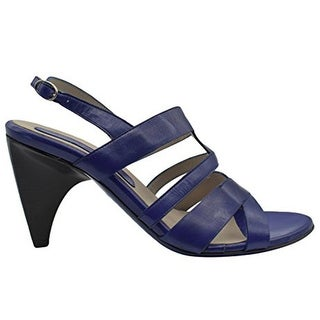 Costume National New Sandy Purple Slingback Shoes