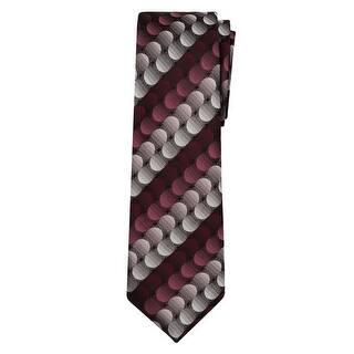 Marquis Men's Burgundy, Gray Geometric 3 1/4 Tie & Hanky Set TH100-006 https://ak1.ostkcdn.com/images/products/is/images/direct/6794b73171863015c60db8e5f80186c81ab8b664/Marquis-Men%27s-Burgundy%2C-Gray-Geometric-3-1-4-Tie-%26-Hanky-Set-TH100-006.jpg?impolicy=medium