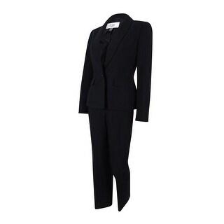 Le Suit Women's Single Button Prague Pant Suit - 4P