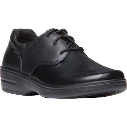 Propet Women's Alice Walking Shoe Black Polyurethane
