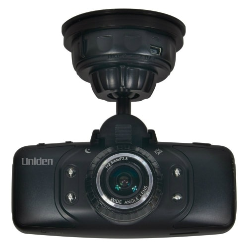 Uniden DC3 Dash Cam with GPS Geotagging and Built-In Microphone