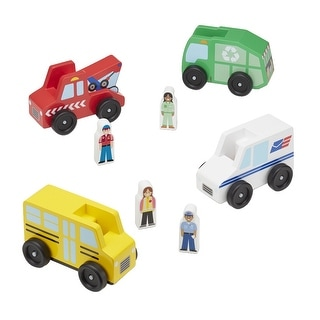 Link to Melissa & Doug Community Vehicles, 8 Pieces Similar Items in Toy Vehicles