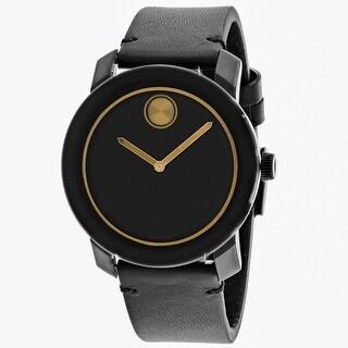 Movado Men's Bold Black Dial Watch