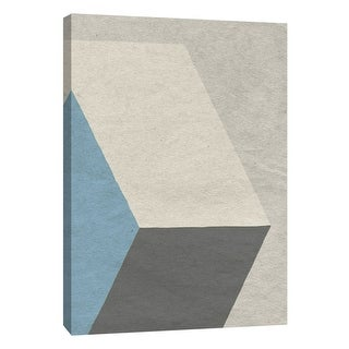 """PTM Images 9-108408  PTM Canvas Collection 10"""" x 8"""" - """"Linen Geometrics A"""" Giclee Patterns and Designs Art Print on Canvas"""
