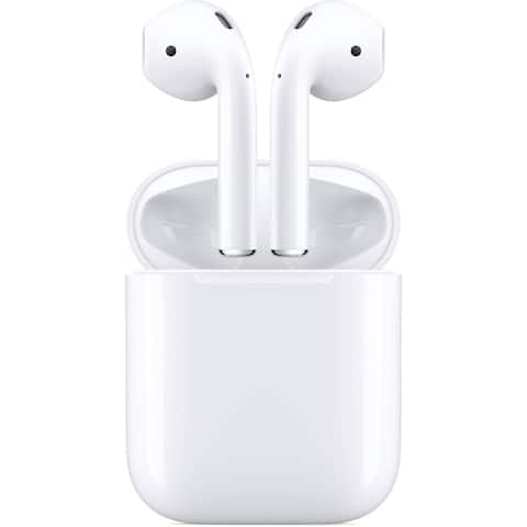 Apple AirPods 2 with Charging Case or Wireless Charging Case (New Release)