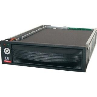 """""""CRU 8440-6502-0500 CRU DataPort 10 Drive Bay Adapter Internal - Black - 1 x Total Bay - 1 x 2.5"""" Bay"""""""