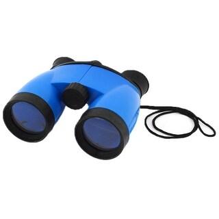 Foldable 4x46 Compact Binoculars Telescope Black Blue w Strap