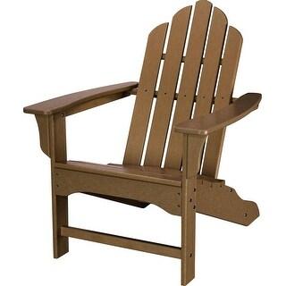 Hanover Outdoor HVLNA10TE All-Weather Contoured Adirondack Chair - Teak