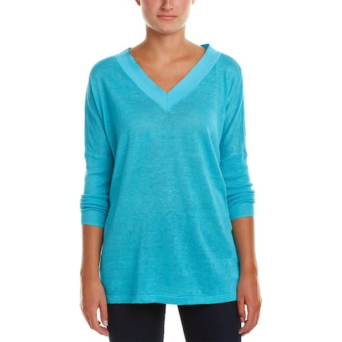 Joan Vass Linen Sweater