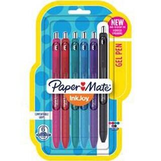 Assorted - Inkjoy Gel Pens .7Mm 6/Pkg