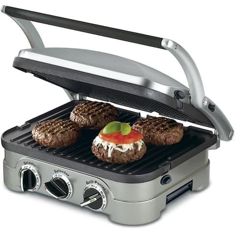Cuisinart GRID-8NPC Electric Griddler Gourmet 5 Functions in 1 Unit