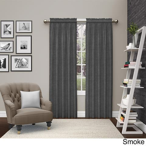 Pairs to Go Teller 2 Pack Window Curtains