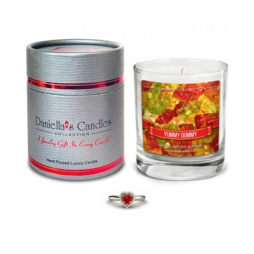Yummy Gummy Jewelry Surprise Candle