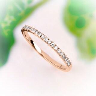 Link to De Couer  IGI Certified 14k Rose Gold 1/4ct TDW Wedding Band Similar Items in Wedding Rings