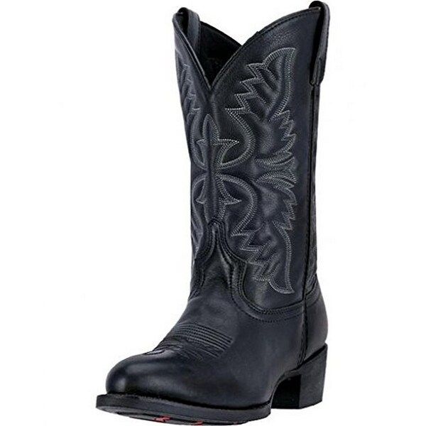 c7d82bb6ffa Shop Laredo Mens Birchwood Western Boot, Adult, Black - Free ...