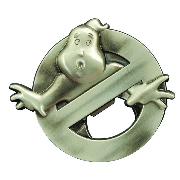 Ghostbusters Metal Logo Bottle Opener - Multi