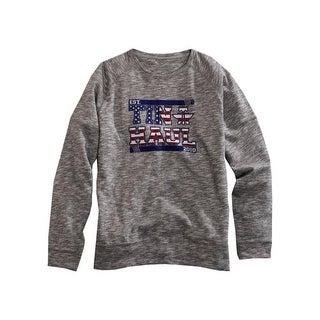 Tin Haul Western Sweatshirt Mens USA Gray 10-078-0300-0769 GY
