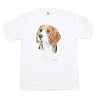 Beagle Print T Shirt