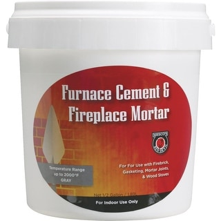 Meecos Red Devil 1/2Gal Furnace Cement